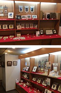 リゾートホテル蓼科「アート・クラフトマーケット」作品展示風景
